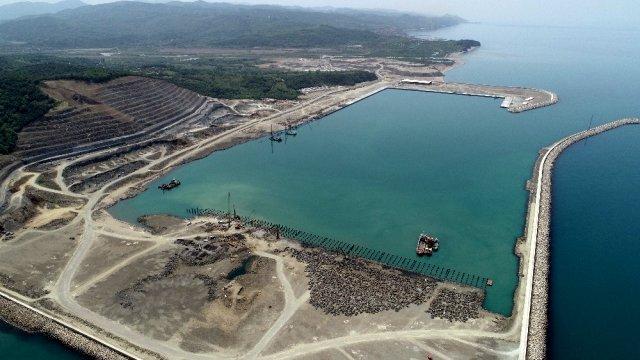 2. Abdülhamid Han'ın rüyası olan Filyos Projesi'nin limanı yıl sonu hayata geçecek