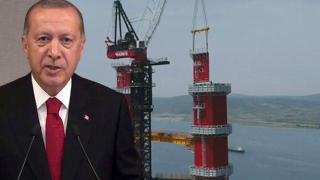 Son dakika: Cumhurbaşkanı Erdoğan Çanakkale Köprüsü'nün törenine katıldı! 1,5 saatlik yol 6 dakikaya inecek