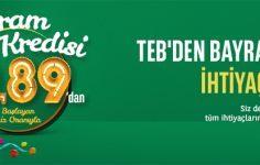 TEB'den Bayram Kredisi Kampanyası